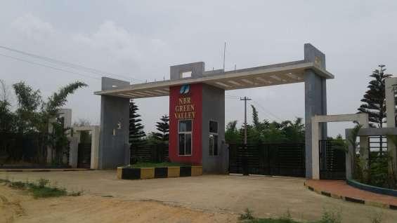Gated community plots in sarjapura