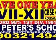 Admission in St Peter's School