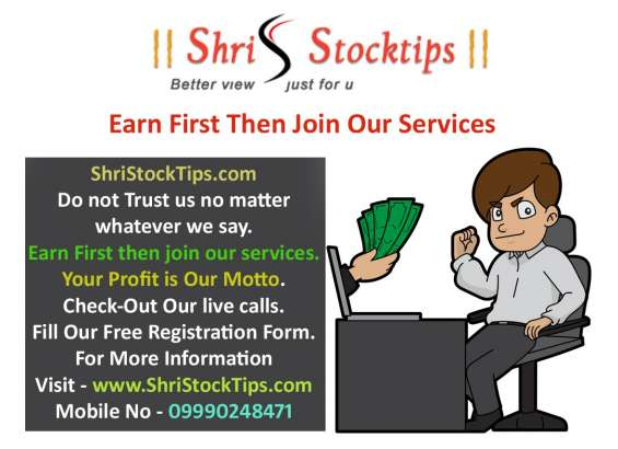 Shristocktips - get 90% accurate share market tips & nifty future tips with proper level & full support on sms,calls,whatsapp. and earn 15 to 17 out of 22 days daily profit. get our free trial services and earn profit form shristocktips.
