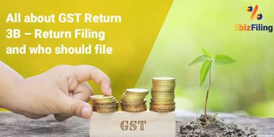 Gst filing online, gst return filing, gst return process