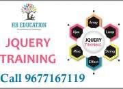 Jquery training in chennai call 9677167119