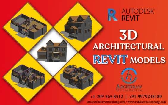 Revit modeling services | revit bim families