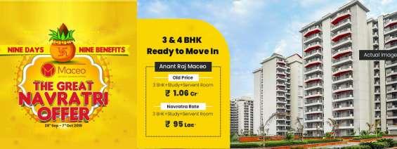 Anantraj maceo sector 91 gurgaon navratri special price