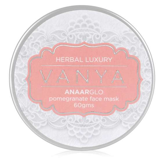 Buy pomegranate face mask from vanya herbal