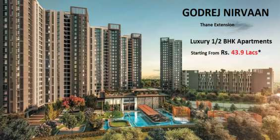 Godrej nirvaan -1/2 bhk apartment | book now call @8447783345