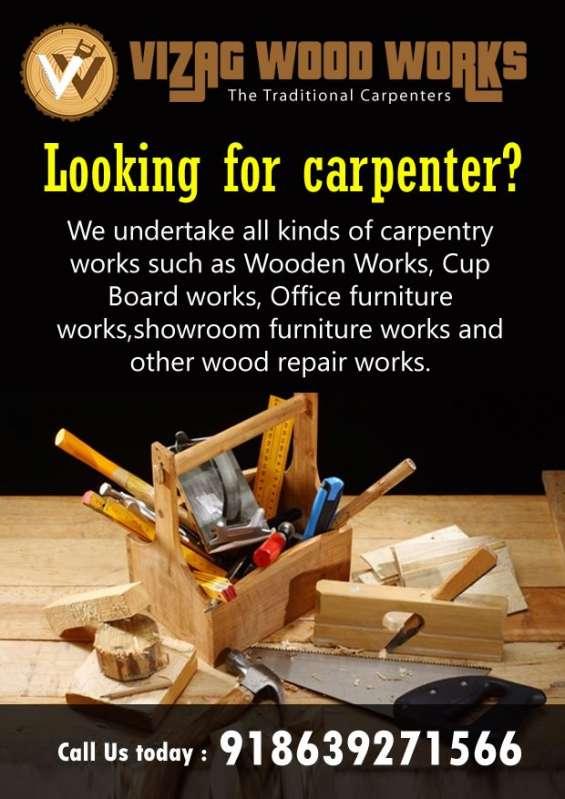 Carpenters in vizag carpentry srvice provider