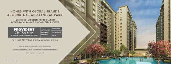 Luxury apartments in kanakapura road | provident central park