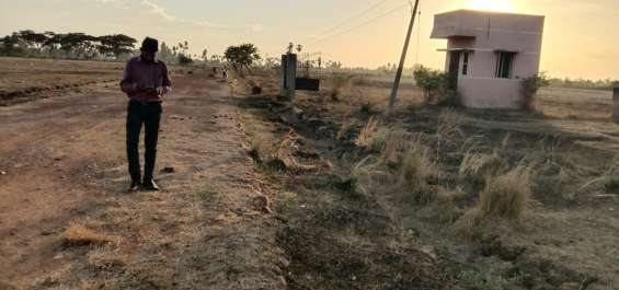 Pictures of Newly launched dtcp approved plots for sale at ponneri smart city 21