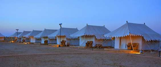 Luxury camp in jaisalmer