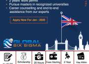 Study abroad for free choosing the right consultants | Global Six Sigma