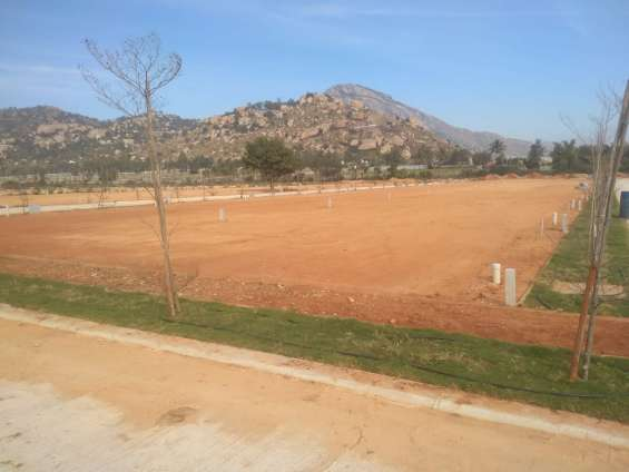 Pictures of Best residential plots with 80% bank loan, starts from 28 lacs 7
