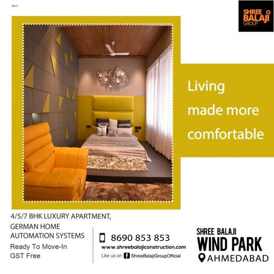 Luxurious apartments sg highway ahmedabad