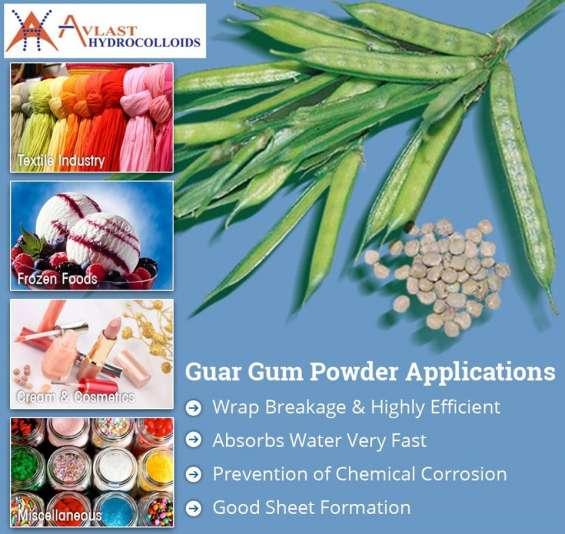 Avlast hydrocolloids - processor & exporter of guar gum, cassia gum in india
