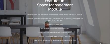 Best space management software - traxx