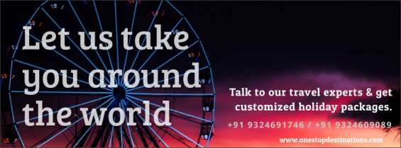 Customised holiday destinations, tickets, travel and more - one stop destinations