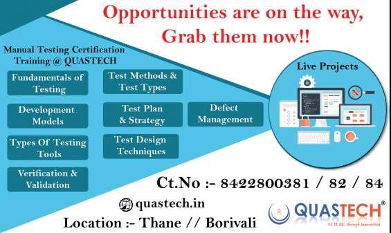 Software testing fees mumbai | quastech