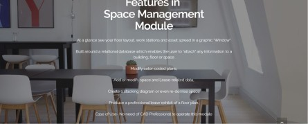 Space management software - traxx