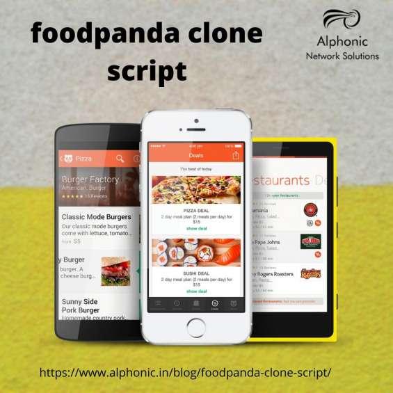 Foodpanda app clone