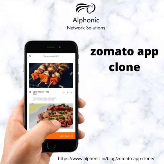 Zomato app clone