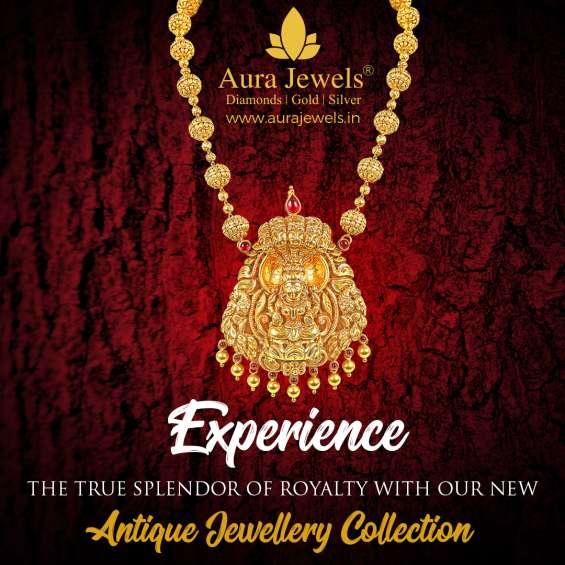 Best gold jewellery in bangalore - aura jewels