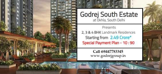 Godrej south estate okhla, delhi   a confluence of mind, body & soul