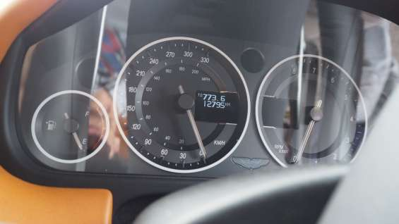 Aston martin dbs coupe 6.0l 2011 speedometer instrument cluster